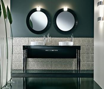 retro koupelnový nábytek