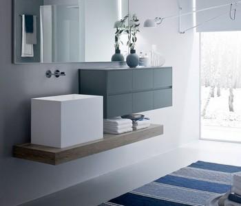 koupelnový nábytek minimalistický