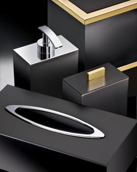 luxusní koupelnové doplňky