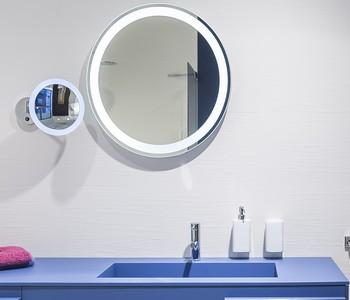 zrcadlo koupelnové LED