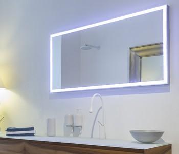 zrcadlo podsvícené LED